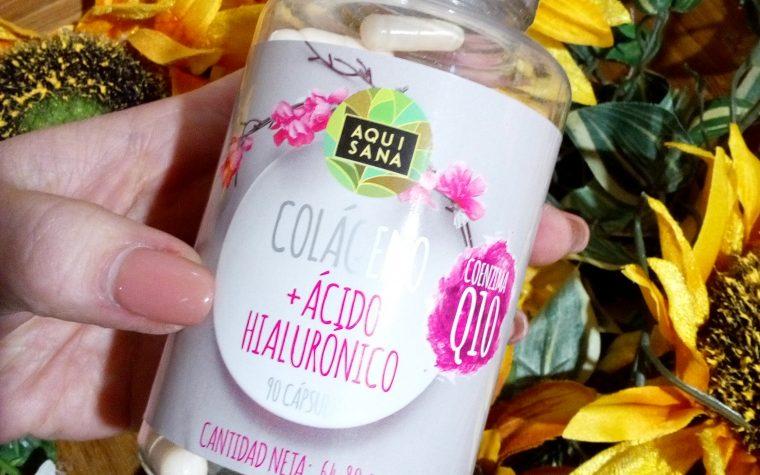 AQUISANA integratore di Collagene idrolizzato + Q10 + acido ialuronico + Vitamina C (recensione)
